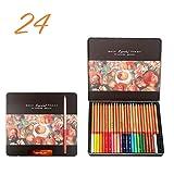 24/36/48/72/100 Colori Matite Set lapices de Colores Profesionales Pastelli Colorare Disegno Matite Set