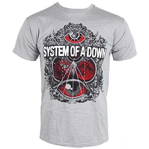 Camiseta para hombre System of a Down Mathematics, gris