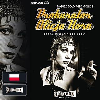 Prokurator Alicja Horn audiobook cover art
