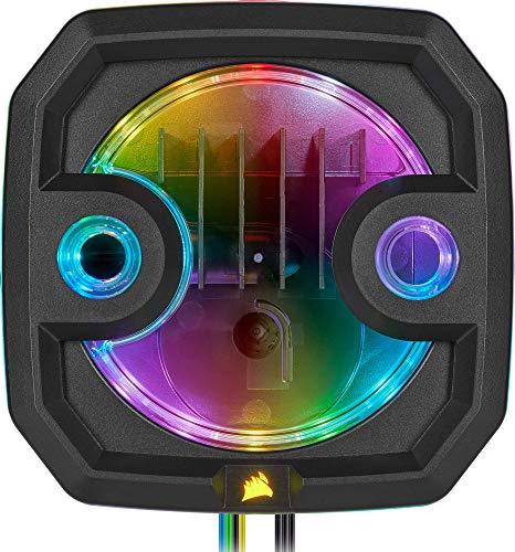 Corsair Hydro X Series XD3 RGB - Sistema combinato compatto pompa/serbatoio, Nero
