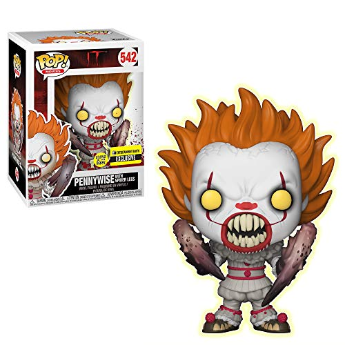Pop! Movies: IT: Pennywise with Spider Legs Glow-in-The-Dark Standard