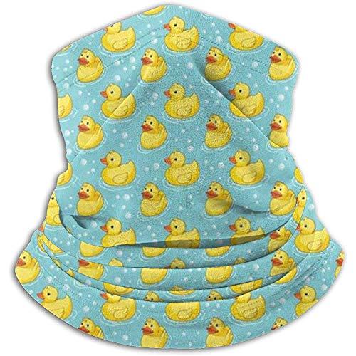 Regan Nehemiah Schattige gele rubber eend ducky bubbels nekwarmer gazon bivakmuts skimasker gezichtsmasker hoeden hoofddeksels