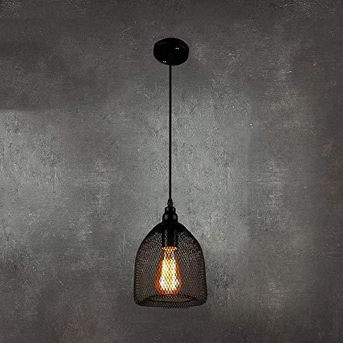 Restaurante Barra de luz Indoor Suspensión Iluminación Americana Creativa E27 Araña Ajustable Aladera Lamppretro Industrial Lámparas Colgantes de alambre Lámparas colgantes a prueba de explosiones