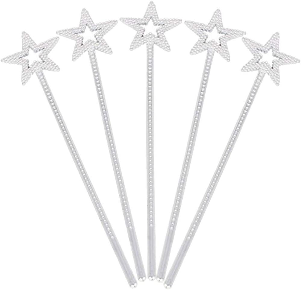 Healifty 12pcs 55% OFF Girls Max 61% OFF Costume Props Star W Angel Fairy Wand Magic