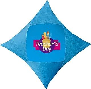 OFFbb-USA - Funda de almohada para el día del profesor de Acción de Gracias, color azul