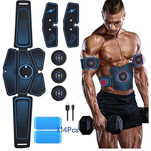 ABS Stimolatore, EMS Elettrostimolatore Muscolare, EMS Stimolatore Muscolare, EMS Addominali Elettrostimolatore, Elettrostimolatore Per Addominali, ABS Allenatore, Cintura Di Tonificazione Addominale