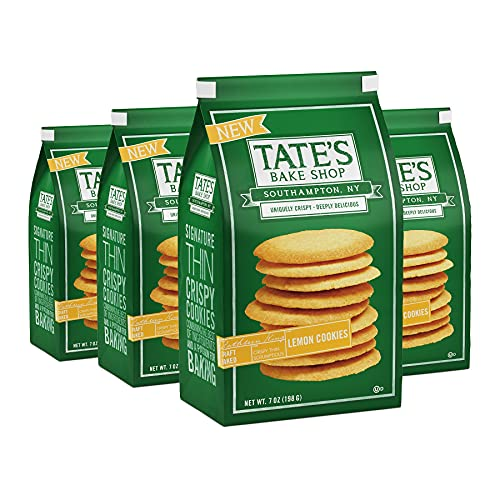 Tate s Bake Shop Lemon Cookies, 4 - 7 oz Bags