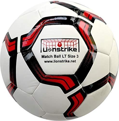 Lionstrike Taglia 3 Match Football – IMS specifica calcio con più morbido, più reattivo e maggiore potenza (Taglia 3)