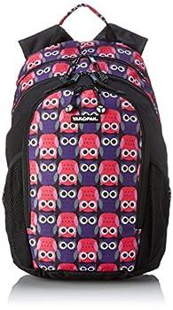 Yak Pak Metro Back Pack Owl Love Purple One Size