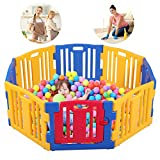 Best Baby Play Gates - Baby Playpen 8 Panel Kids Safety Play Center Review