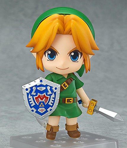 XINFAN Figura de Zelda Majora Mask 3D Link Figure Zelda Figure Majora'S Mask Legend of No Densetsu Kazeno Takt10cm Figura Rinquedo