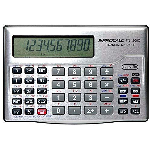 Calculadora Financeira RPN Fn1200c Procalc