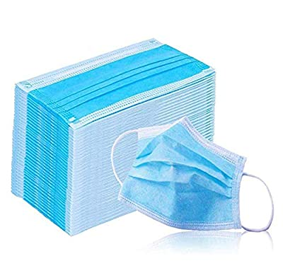 AKARIAAI Disposable 20PCS Filter 3-ply Face Mask Personal Protection Dust-Proof Anti Spittle Eye Mask for Earloop