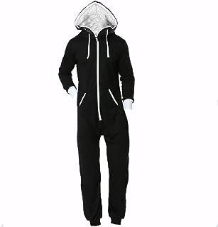 Fxaelian Unisex Women Men Jumpsuit Onesie Pajamas Union Suit Sportwear