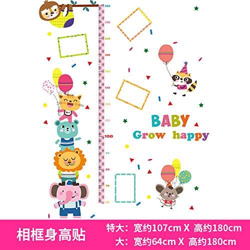 Aufkleber Baby Wandaufkleber können in Kinderzimmern entfernt werden - Big_M Fotorahmen Höhe Aufkleber
