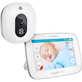 "Angelcare A0510-DE0-A1011 Babyphone mit Video-Überwachung AC510-D / 5"" Display, weiß"
