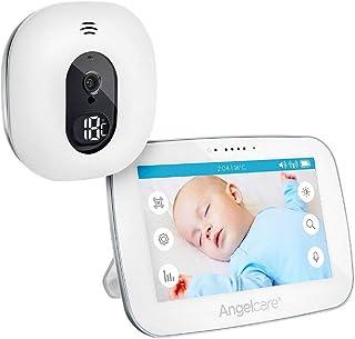 Angel Care a0510de DE0de A1011Vigilabebés con vídeo de supervisión AC510de D/5pantalla color blanco