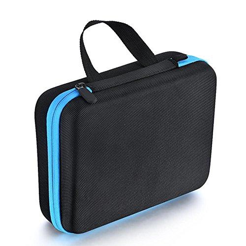 Boîte de rangement pour huile essentielle, 30 trous Pack Sac de rangement étanche portable Voyage Trousse de toilette Trousse de rangement Idéal pour 5 ml 10 ml 15 ml