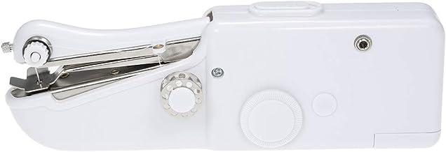 ماكينة خياطة كهربائية صغيرة محمولة محمولة من Honeytecs أداة خياطة منزلية لاسلكية سريعة الغرز للقماش الملابس لعبة الحرف
