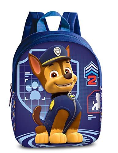 Paw Patrol Rucksack Kinder Jungen Maedchen Kinderkoffer Mädchen Kindertrolley präsentiert von RabamtaGO® (M1 Chase)