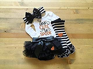 First Halloween Outfit, Halloween Outfit for Newborn Girl, Baby Girl 1st Halloween, Baby Halloween Costume, Newborn Trick or Treat Outfit