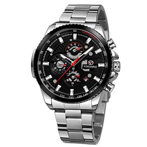 ROVNKD Modeuhr, schwarz, LED Uhr, Damenuhr, Schmuck & Uhren, Silikon, Mechanisch, Sportuhren, Digitaluhr, Herrenuhren,