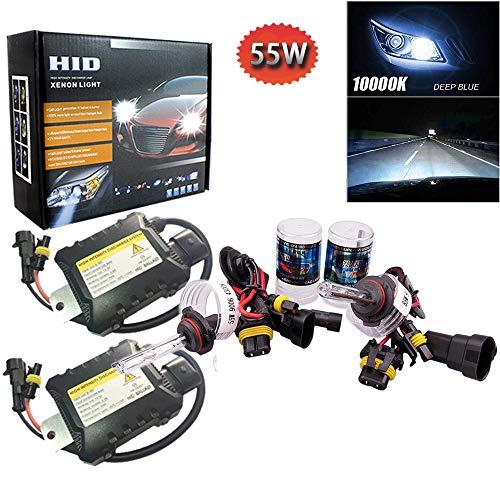 PolarLander 1 Paire CANBUS HID Xenon Kits De Voiture Phare Slim Ballast Xénon Ampoule Ballast Conversion 9006 Température De Couleur 10000 K