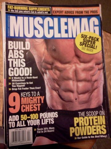 ROBERT KENNEDY'S MUSCLEMAG INTERNATIONAL Magazine April 2008 (Number One Authority On Bodybuilding, Building health fitness physique, body building, Fat burning supplements, expert advice from the pros, protein powders, six-pack super special)
