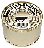 DREISTERN Rindfleisch im eigenen Saft 400g I leckeres Rindfleisch in der praktischen recycelbaren Goldlackdose I köstliches Rindfleisch - Qualität die schmeckt