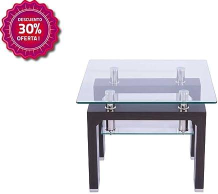 Amazon.es: mesas rinconeras - Vidrio / Muebles: Hogar y cocina