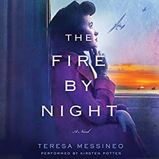 The Fire by Night audiobook cover art