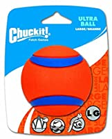 Chuckit! Large Ultra Ball 3-Inch, 1-Pack by Canine Hardware [並行輸入品]