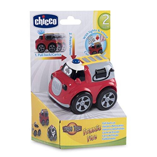 Chicco 00007902000000 Fahrzeuge mit Funktion, Turbo Team Feuerwehr