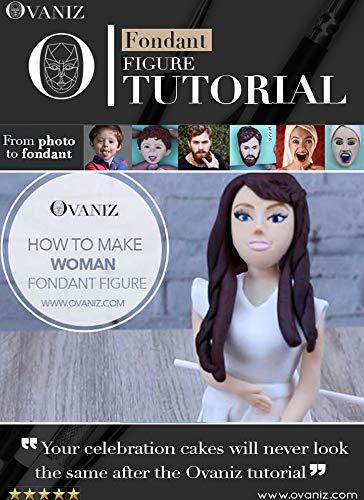 How to make a simple woman fondant figure (fondant figures Book 3) (English Edition)