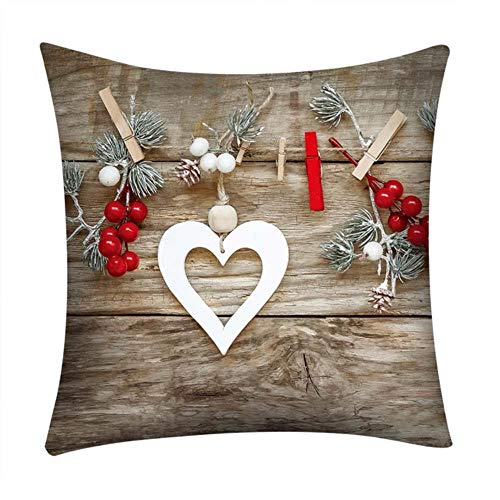 ZHANGDA Pillow Case 45 * 45 Home Decor Cushion Cover Simple Fade Wool Throw Pillowcase Pillow Covers New A4,E,450Mm*450Mm