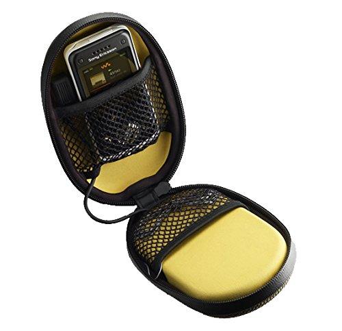 Sony Ericsson ERMAS100A - Altavoces portátiles con funda para móviles Sony Ericson, color amarillo