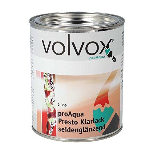 Volvox proAqua Presto Klarlack seidenglänzend, 750 ml