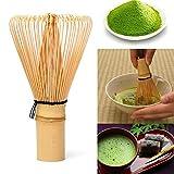 YETE Cérémonie du thé Matcha Japonaise de qualité supérieure Fouet Matcha Accessoires de théisme pour Le moussage Matcha | 60 à 70 Branches