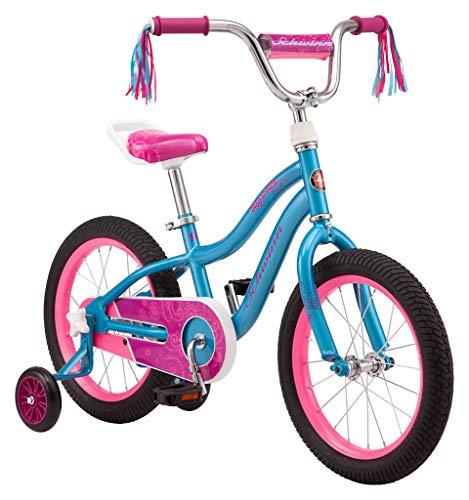 Schwinn Hopscotch Quick Build Kids Bike, 16-Inch Wheels, Smart Start Steel Frame, Easy Tool-Free Assembly, Teal