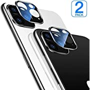 [2 Pack] Compatible with iPhone 11 Pro Screen Protector Camera Lens Protector High Definition Ultra Thin Anti-Fingerprint Anti-Scratch for iPhone 11 Pro/ 11 Pro Max