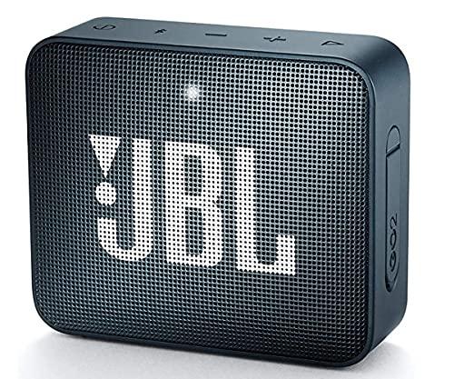 JBL GO - Altavoz Bluetooth portátil, Impermeable IPX7, con micrófono, hasta 5 Horas de autonomía, Azul Oscuro