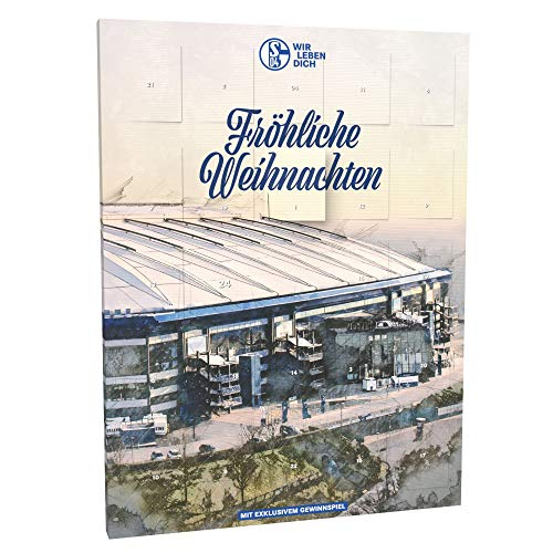 Schalke 04 Adventskalender FC Weihnachten Fanartikel Advent Kalender Geschenkidee Gelsenkirchen