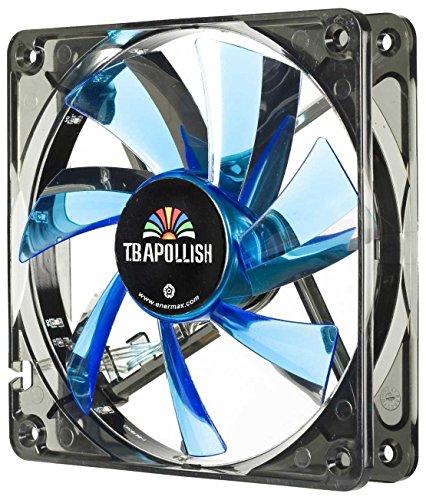 Enermax T.B.Apollish UCTA12N-BL - Ventilador (120 mm, LED), color azul