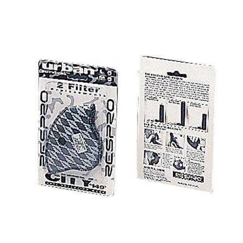 Respro - Recambio de Filtro para máscara de protección Anti-polución, 2 Unidades. Código: RCO2