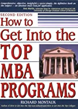 how to get into a good mba program