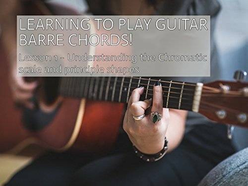 Learning To Play Guitar Barre Chords - The Chromatic Scale & Principle Shapes