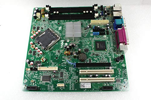 Genuine Dell Intel Q45 Express LGA775 Socket Motherboard For Optiplex 960 Small Mini Tower (SMT) System Part Number: Y958C, H634K