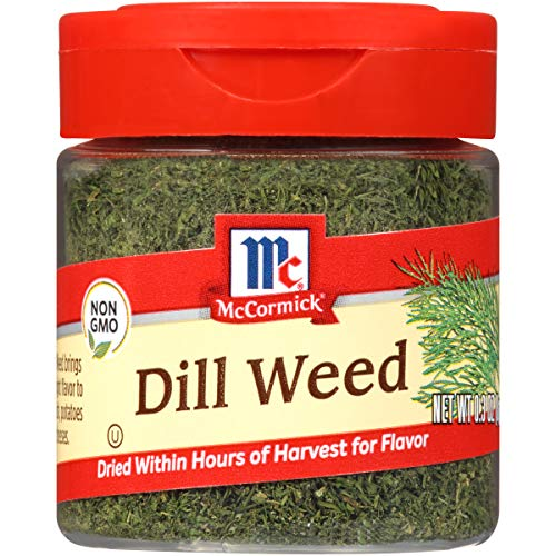 McCormick Dill Weed, 0.3 oz Now $1.70 (Was $3.25)