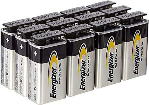 Energizer 636109 Batería Industrial 9 V 12