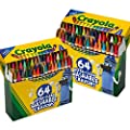Crayola 64ct Ultra Clean Washable Crayons, 2 Pack Bulk Crayon Set, Gift for Kids by Crayola